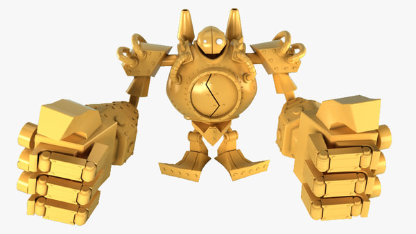 blitzcrank league legends 3d max