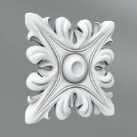 3d model classical decoration