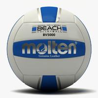 3d molten beach volleyball