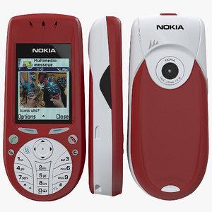 nokia 3660 3d model