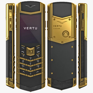 vertu signature s 3d model