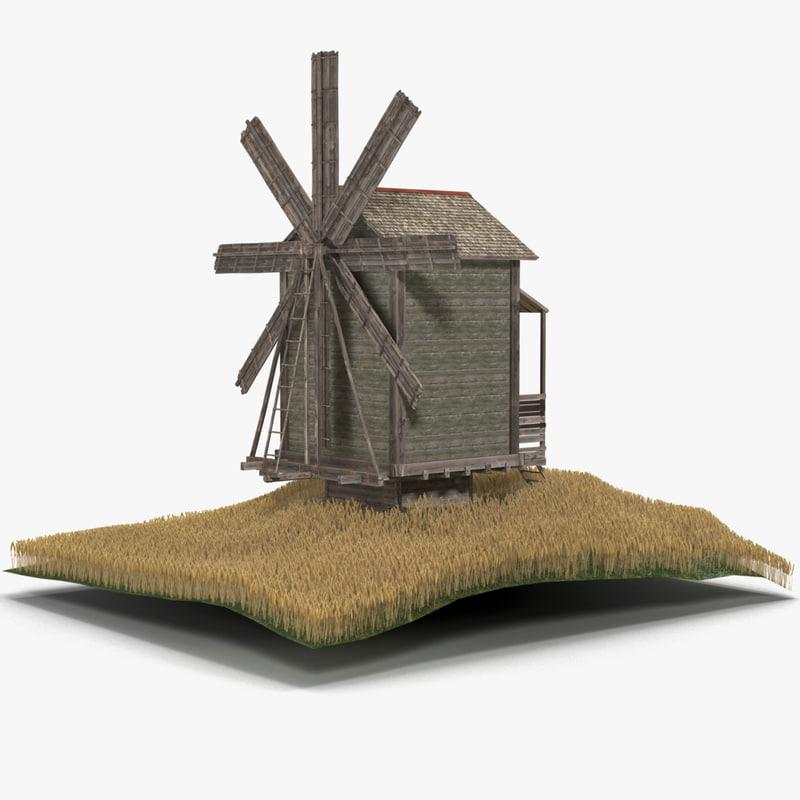 windmill 2 3d 3ds