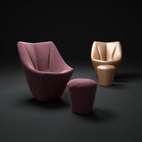 3d model anda-chair