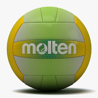 molten recreation volleyball 2 3d x