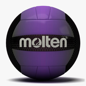 molten recreation volleyball 3 3d c4d