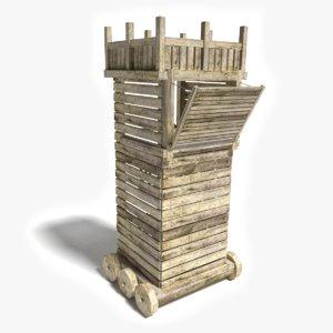 siege tower 3ds