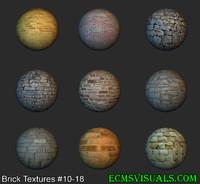 Brick Textures #10-18