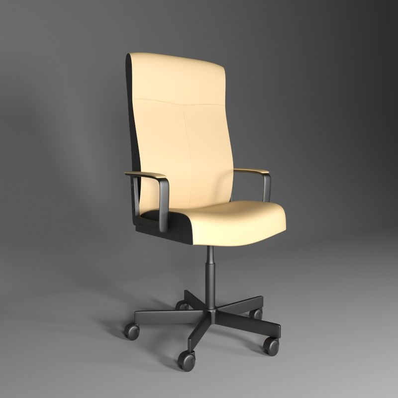 3d malkolm chair
