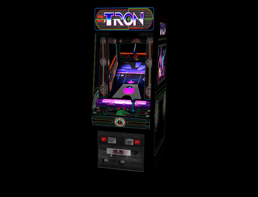 3ds max tron arcade classic