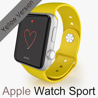 APPLE Watch Sport Yellow