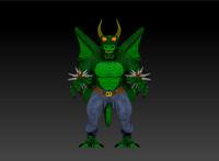 dragon humanoid 3d model