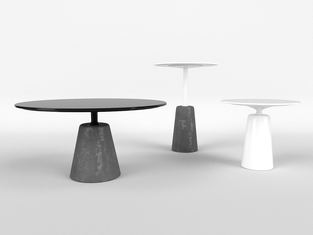 rock tables c4d