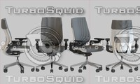 gesture chair 3d model