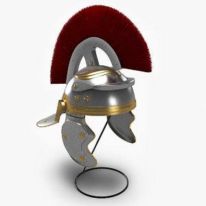 3d model roman helmet 1