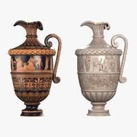 3d model archaic vase