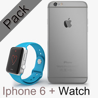 APPLE Iphone 6 + APPLE Watch Sport