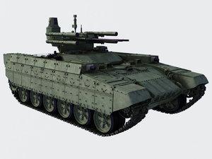 3d bmpt tank