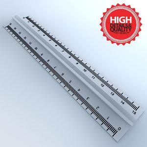 3d gradual ruler