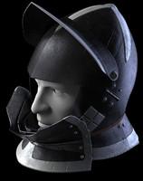 burgonet medieval helmet reiter max