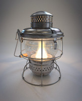 Antique Lantern, Kerosene