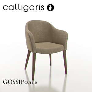 3ds calligaris gossip dining chair