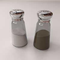 Salt and Pepper Bottle