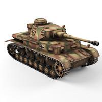 pz 4g 3d model