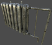 Iron Pipes LowPoly