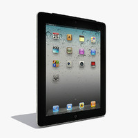 3d ipad modeled model