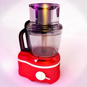 kitchen aid 3d model