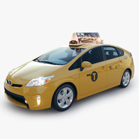 3d model toyota prius 2014 new york