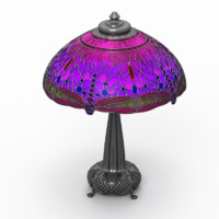 tiffany lamp 3ds
