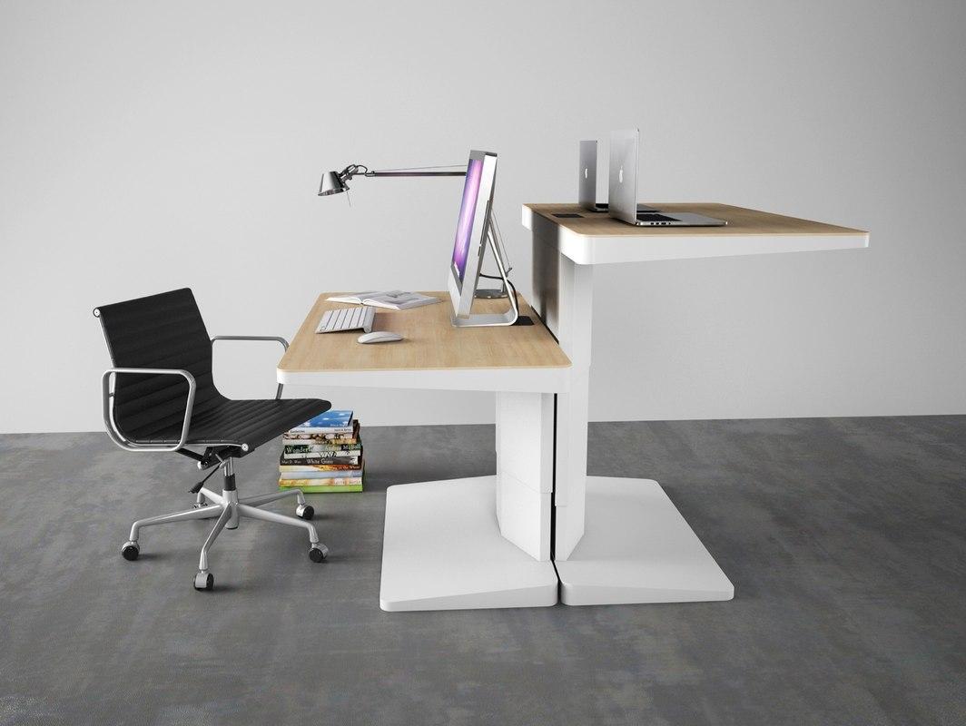 3d kembo alpha desk