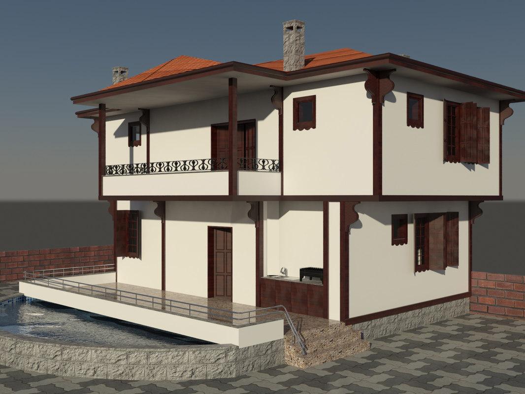 3ds villa