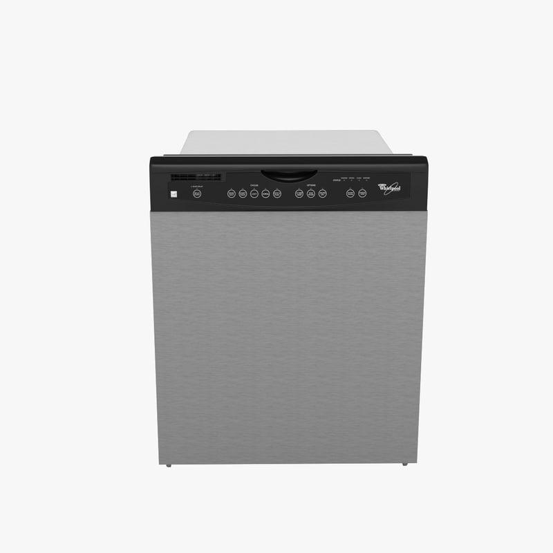 3d dishwasher model
