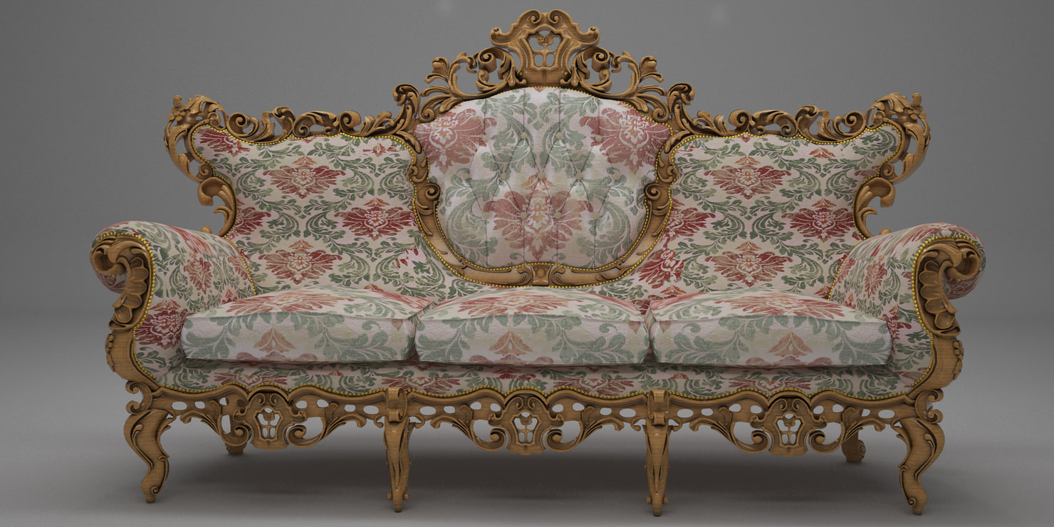 max antique sofa