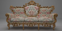 Antique italian sofa