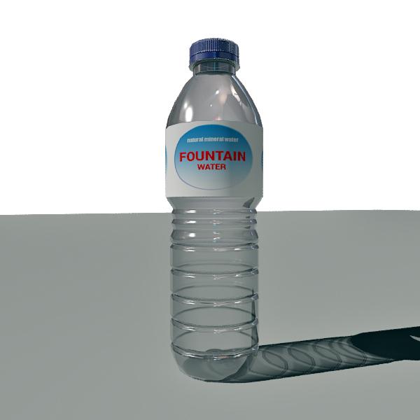 3d water bottle garrafa