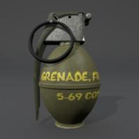 m26 grenade 3ds