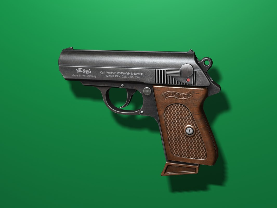 ppk pistol 3ds