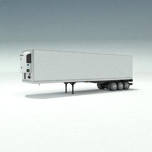 3d freezer trailer