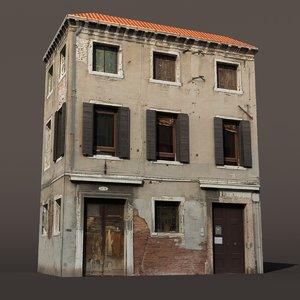 3d building exterior