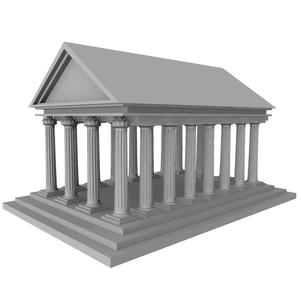 maya greek temple