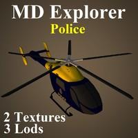 3d md pol model