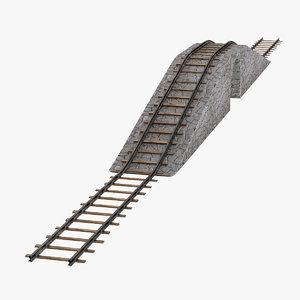 3d model railroad
