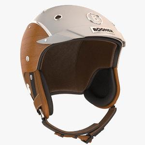 bogner ski helm 3d max