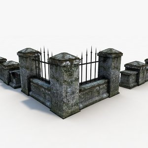 fence old e 3d max