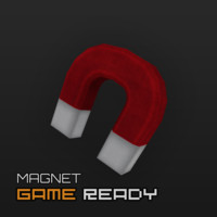 3d model ready magnet