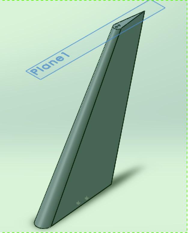 free aero-foil 3d model