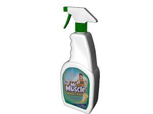 3d model window cleaner